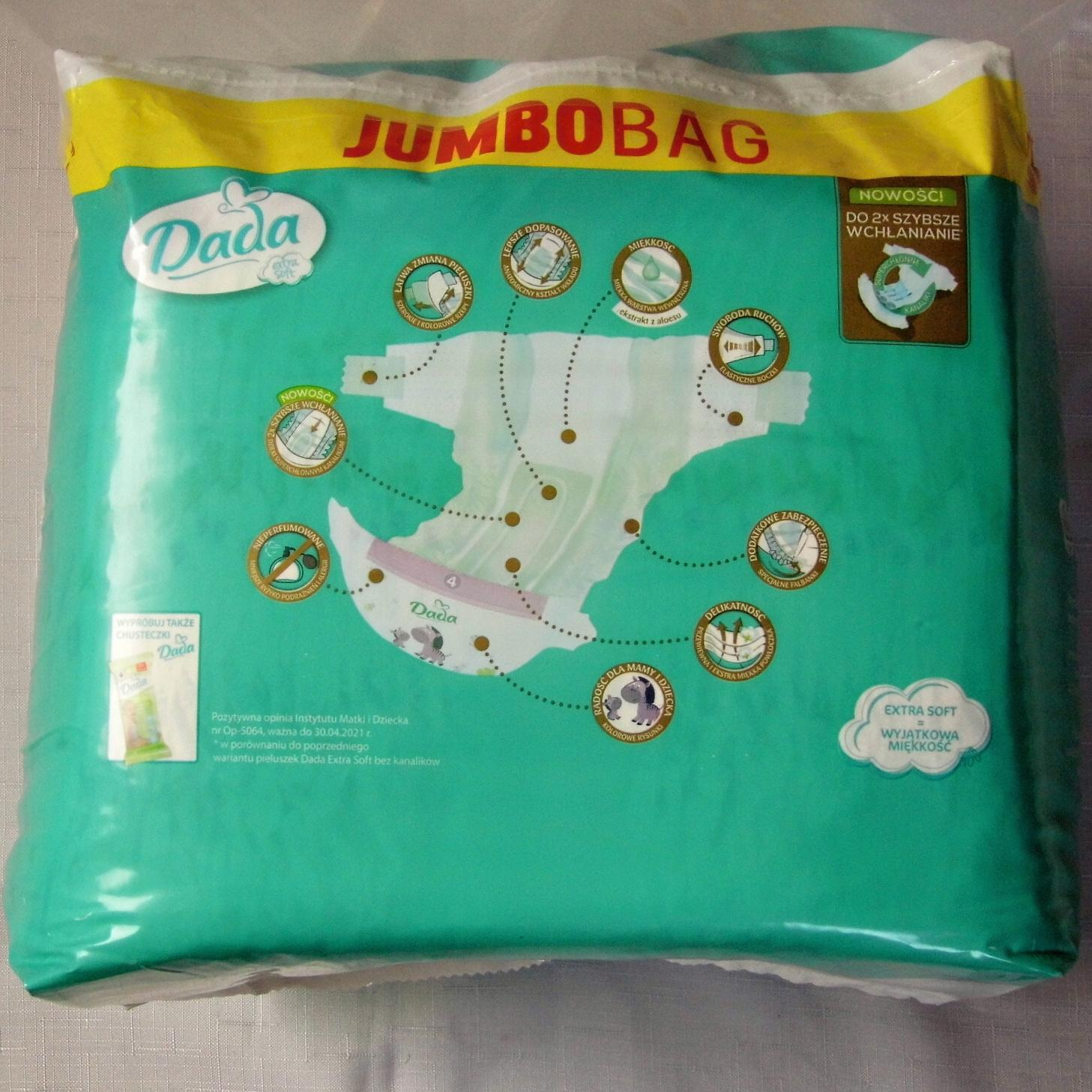 DADA EXTRA Soft JUMBO BAG VEL.5- 68 KS (15-25 KG)