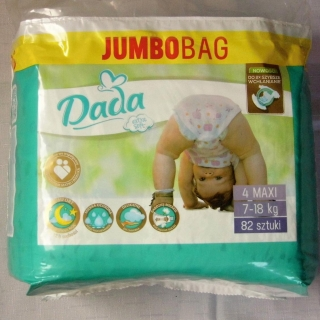 DADA EXTRA Soft JUMBO BAG VEL.4 - 82 KS (7-18 KG)