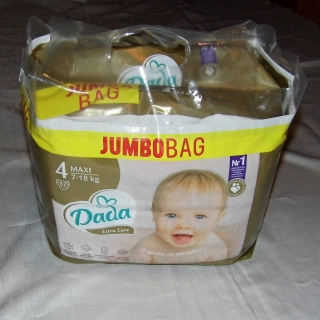 DADA EXTRA CARE BAG VEL.4 - 82 KS (7-18 KG)